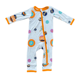 Kozi & Co Solar System Bamboo Coverall