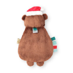 Itzy Ritzy Holiday Bear Plush and Teether Toy