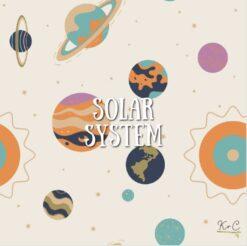 Kozi & Co Solar System Bamboo Pajama Set