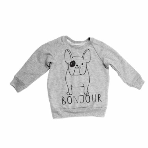 Portage and Main Bonjour Raglan Sweatshirt