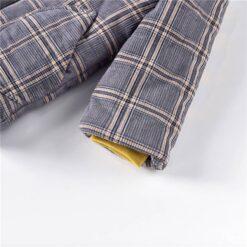 Aimama Lee Plaid Coat