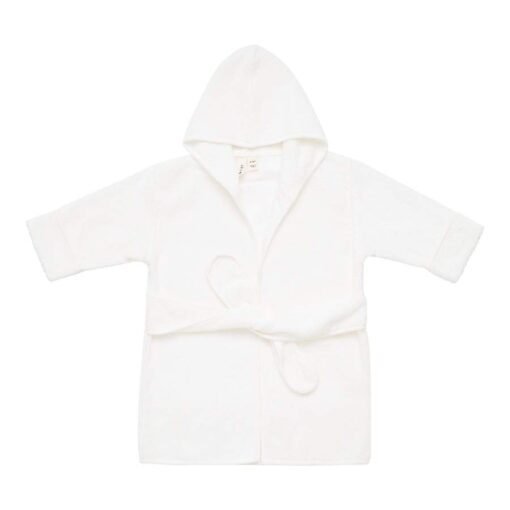 Kyte BABY Toddler Bath Robe in Cloud