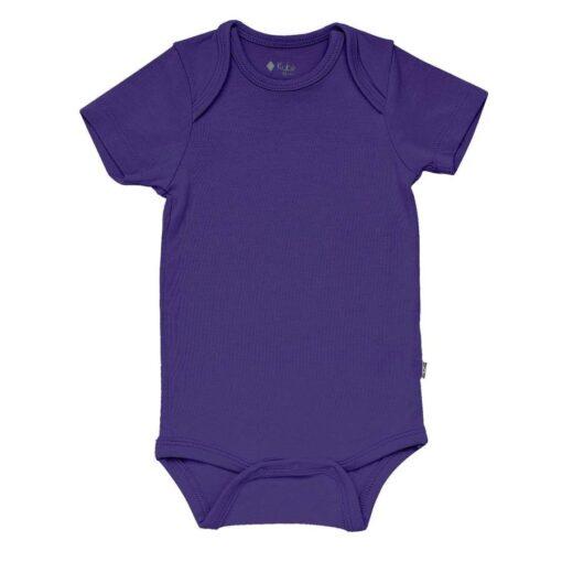 Kyte BABY Bodysuit in Eggplant