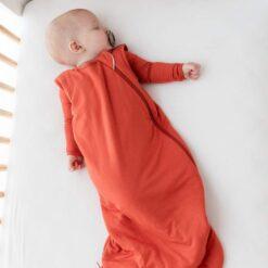 Kyte BABY Sleep Bag in Clementine 2.5 TOG