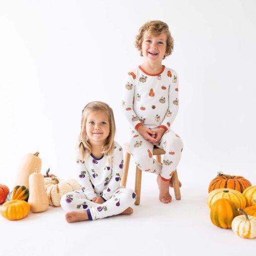 Kyte BABY Toddler Pajama Set in Fig