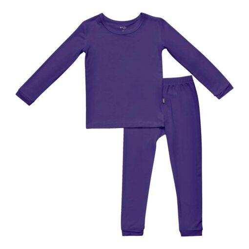 Kyte BABY Toddler Pajama Set in Eggplant
