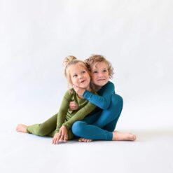 Kyte BABY Toddler Pajama Set in Olive
