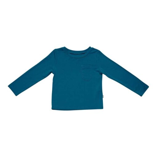 Kyte BABY Long Sleeve Toddler Tee in Baltic