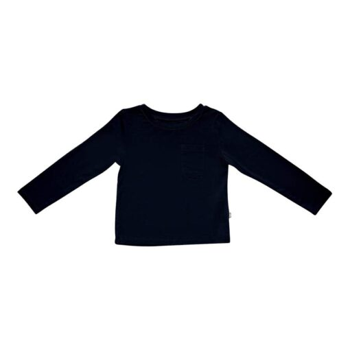 Kyte BABY Long Sleeve Toddler Tee in Midnight