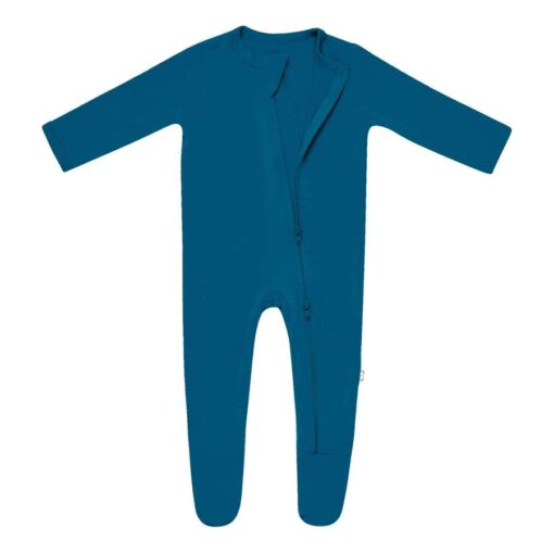 Kyte BABY Zippered Footie in Baltic