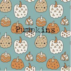 Kozi & Co Pumpkins Bamboo Pajama Set